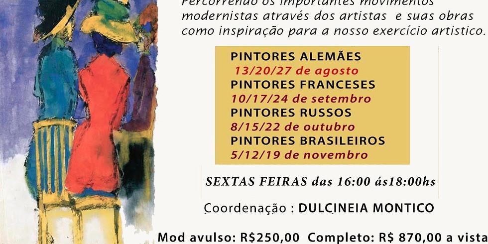 Modernismo no Séc.XX - Módulo 4 - Pintores Brasileiros