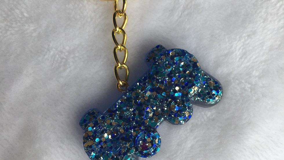 Manette bleue