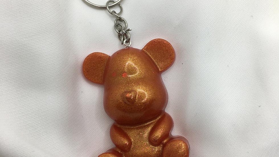 Maman ours rouge doré
