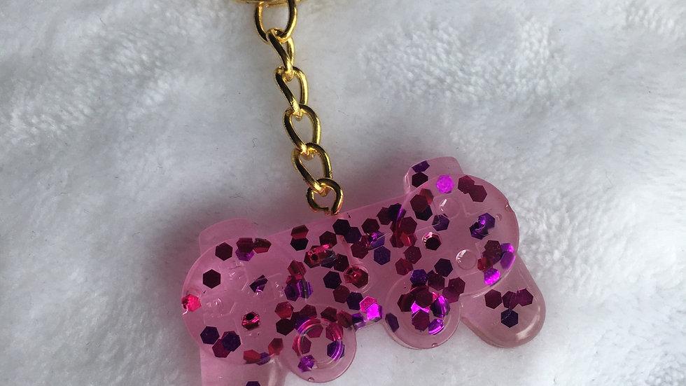 Manette rose violettes