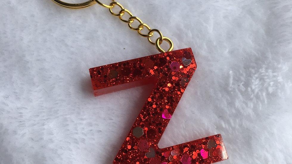 Porte clef lettre Z