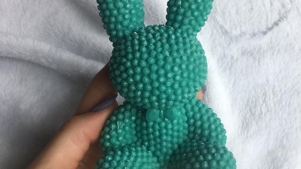 Grand lapin vert
