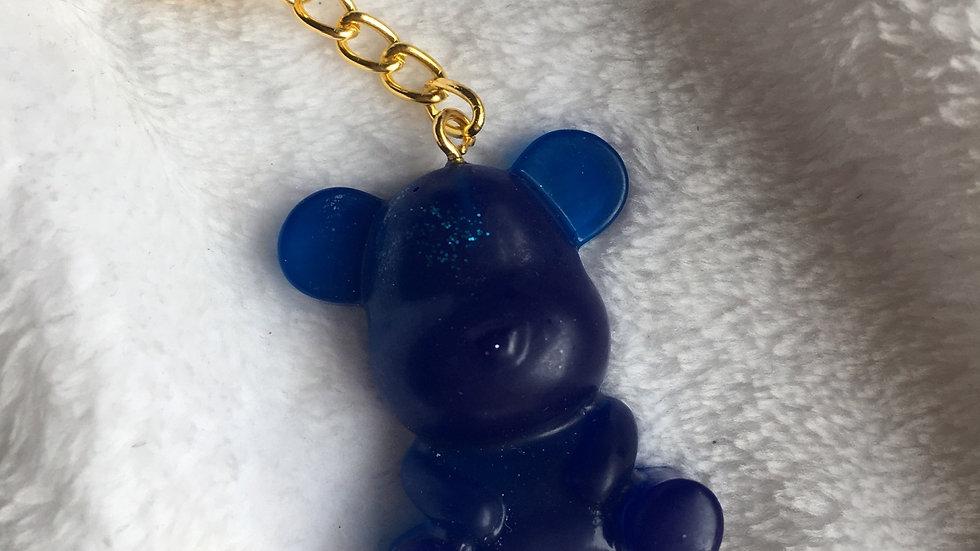 Grand ours bleu marine