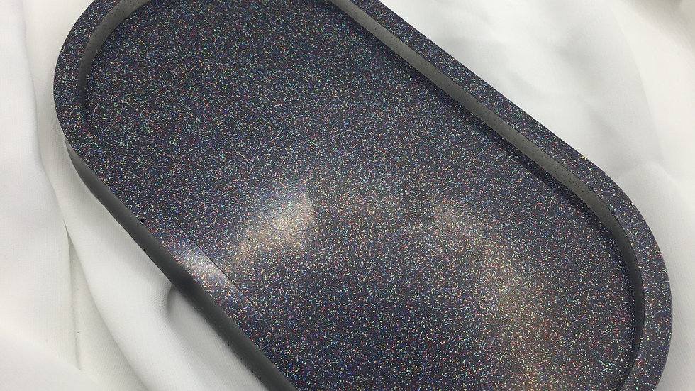 Platrau noir holographique