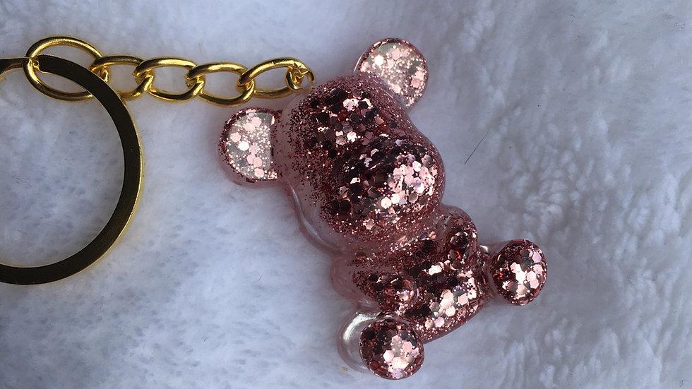 Moyen ours rose gold