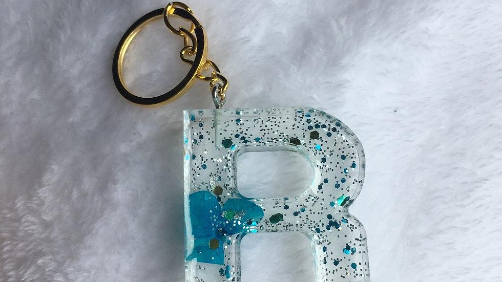 Porte clef lettre R