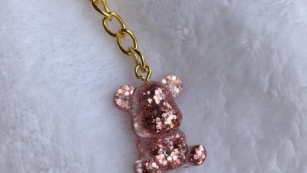 Bébé ours rose gold