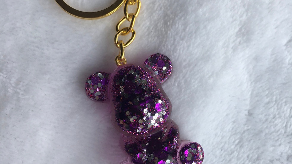 Moyen ours violet