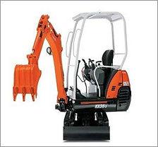 15 Tonne Kubota Mini Excavator For Hire