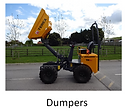 DPH Plant Hire - Dumpers for hire