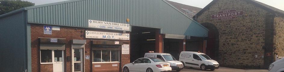 Image of exterior of Castlecroft Motors Ltd