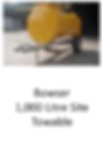Bowser 1,000 Litre Site Towable for hire