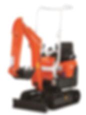 0.8 Tonne Kabota Mini Excavator for hire