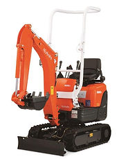 0.8 Tonne Kabota Mini Excavator for hire