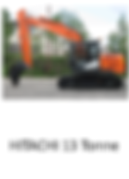 Hitachi 13 Tonne Excavator