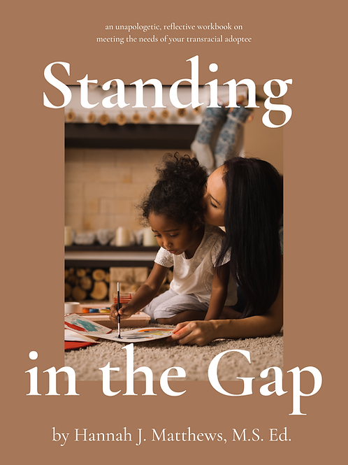Standing in the Gap: A Workbook on Meeting the Needs of Your Transracial Adoptee