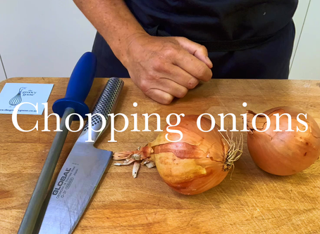 How to dice onions...