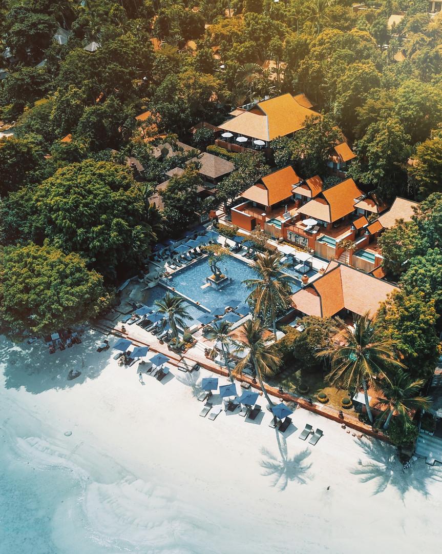 Beachfront Pool and Villa - Renaissance Samui Resort and Spa