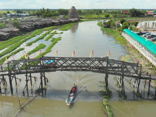 Thailand's hidden local attractions - Ancient city of Ayutthaya and Suphanburi.