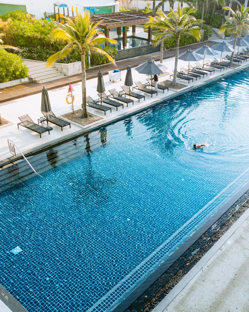 Beach Pool at Marriott Rayong Resort and Spa