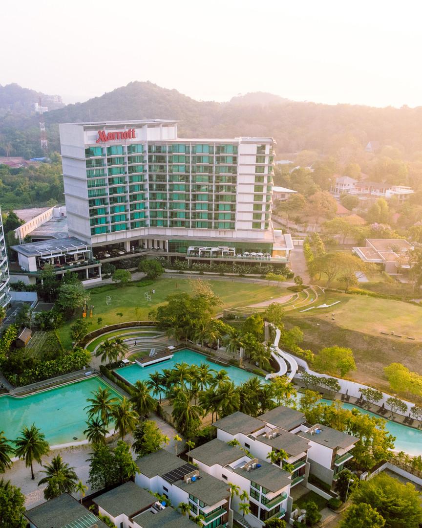 Aerial Shot of Marriott Rayong Resort