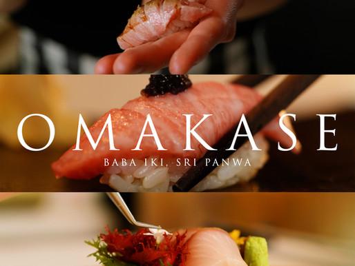 Food Videography - Omakase Experience at Baba Iki, Sri Panwa