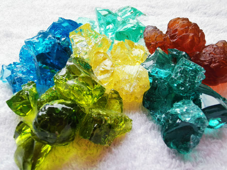 Cast Glass Colours