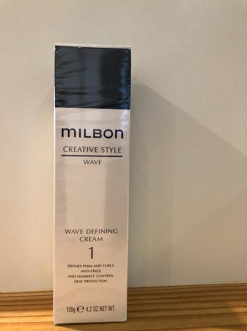 ミルボン ウェーブファイニング クリーム 1  120g