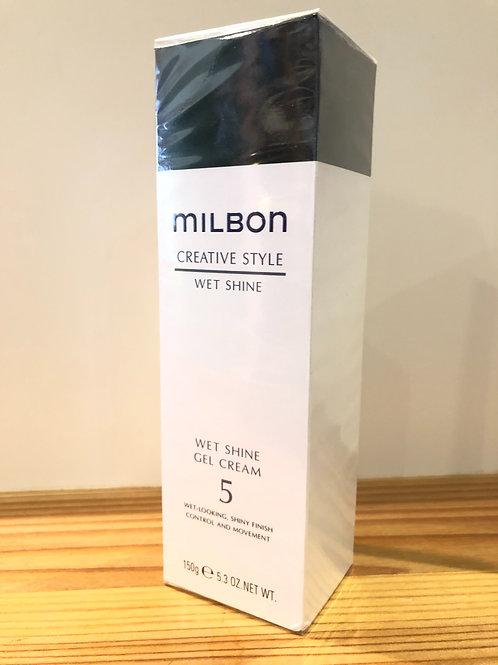 ミルボン ウェットシャイン ジェルクリーム 5  150g