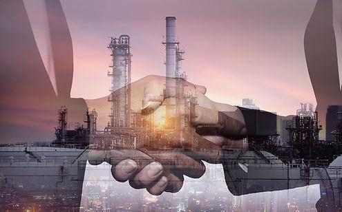 Business industry in petroleum cooperati