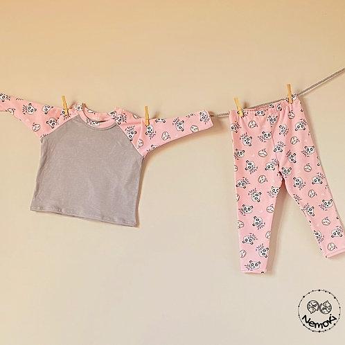 Conjunto Leggings - Pink Panda