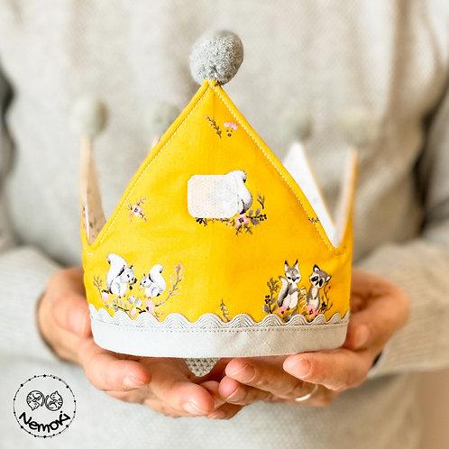 Corona cumpleaños - Ardillas