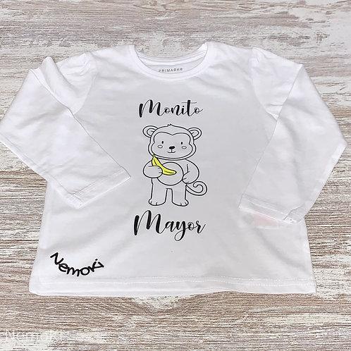 Camiseta manga larga niñ@