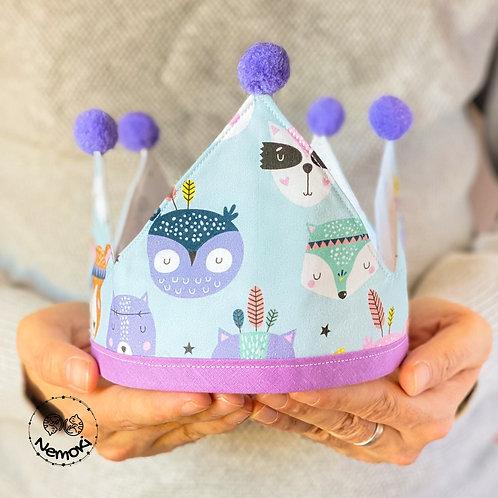Corona cumpleaños - Cute Animals
