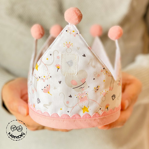 Corona cumpleaños - Ratoncita
