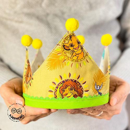 Corona cumpleaños - El Rey Leon