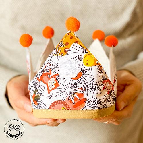 Corona cumpleaños - Selva II