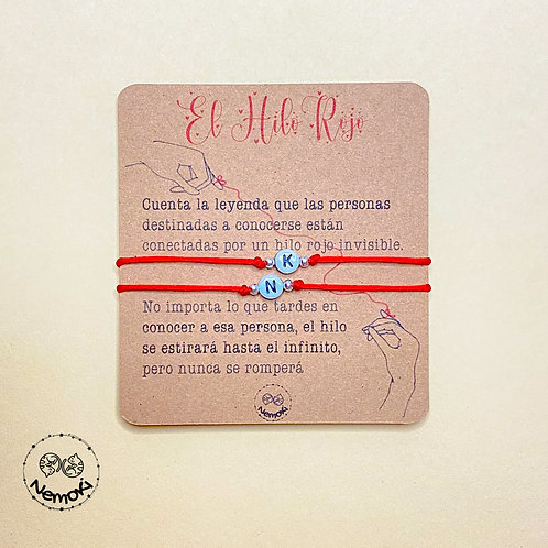 Pulseras Personalizadas - Hilo Rojo