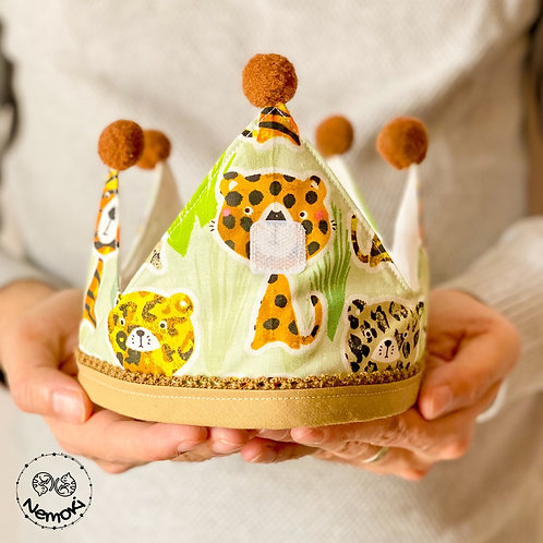 Corona cumpleaños - Selva