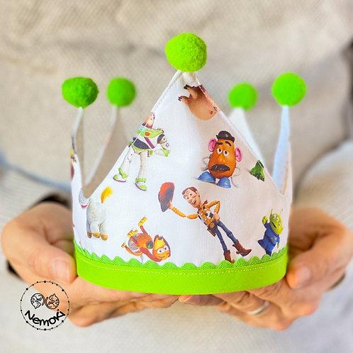 Corona cumpleaños - Toy Story