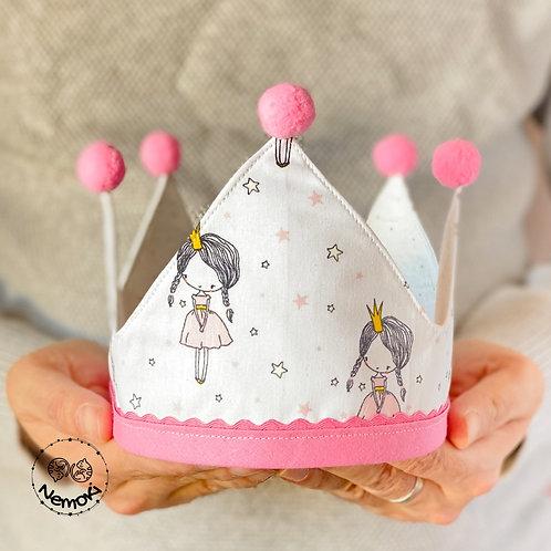 Corona cumpleaños - Happy Princess