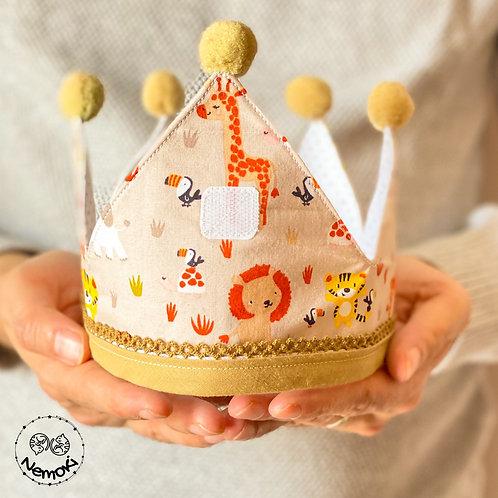 Corona cumpleaños - Leones