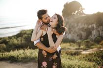 Carlo & Makayla Santa Barbara Engagement