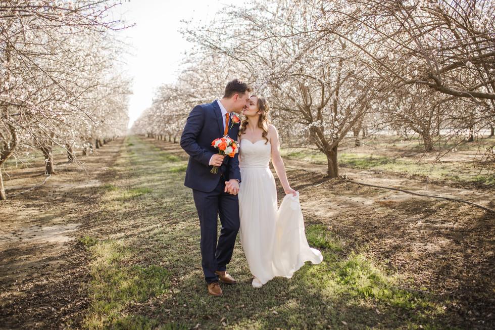 Almond Field Wedding