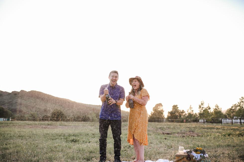 Jon & Sierra- Sunset Picnic