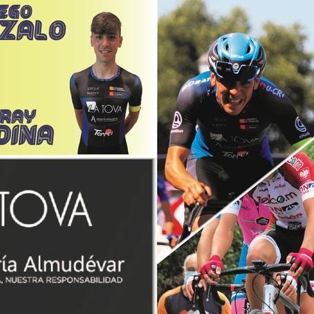 La Tova-Asesoría Almudévar contará con Diego Gonzalo y Yeray Medina en 2022