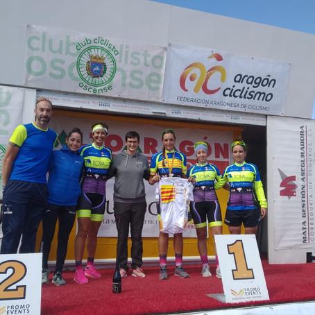 Conchi Pérez, campeona de Aragón