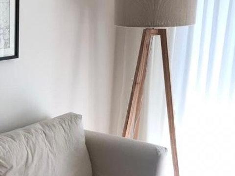 algodon hilo Pantallas de de lampara pie tQshrCBdx