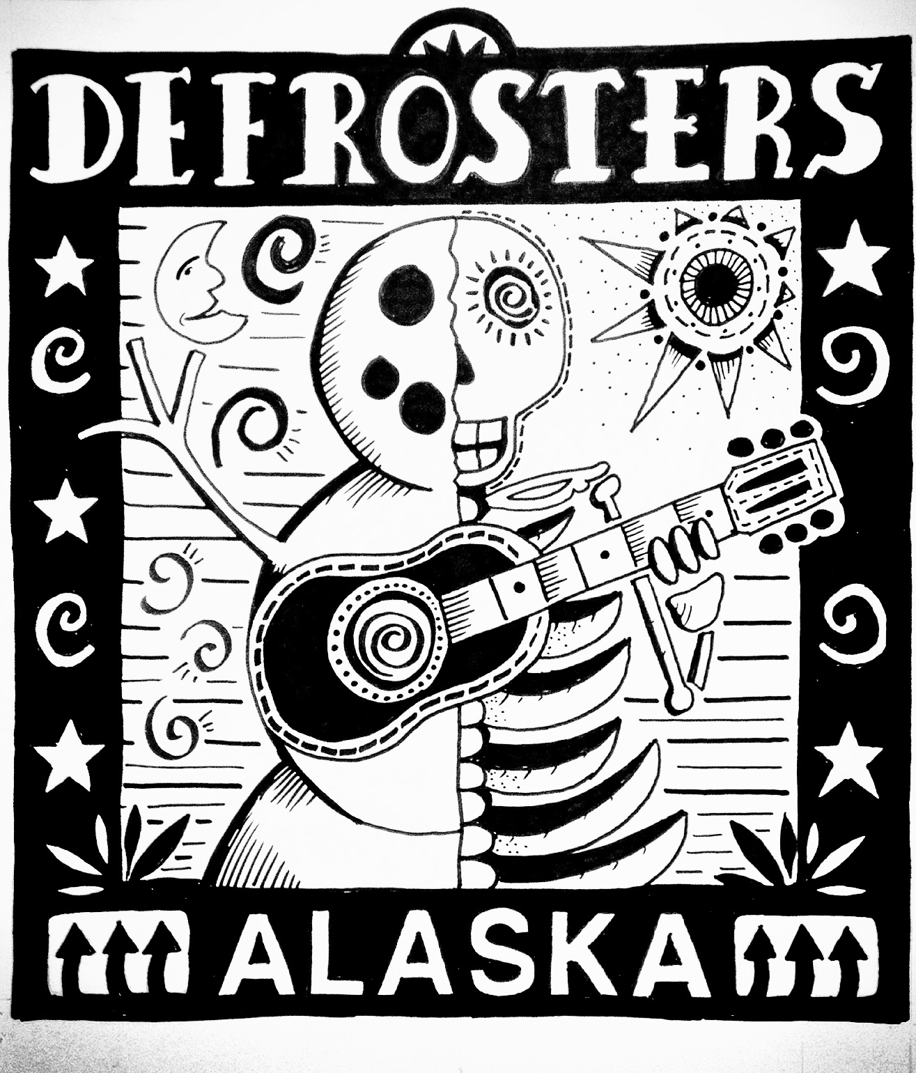 The Defrosters Original Artwork