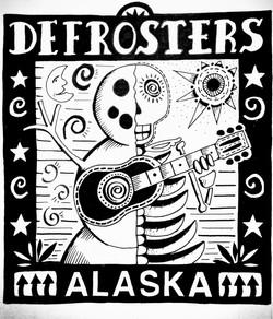 The Defrosters Original Artwork